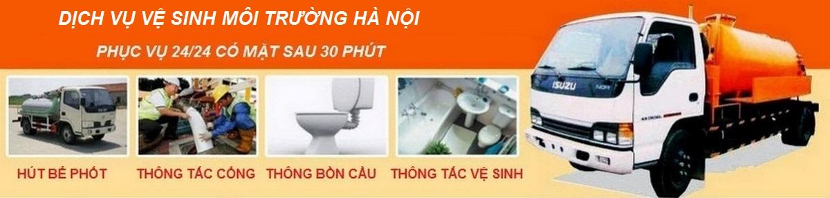Thông tắc cống | Hút bể phốt | Nhà vệ sinh ở tại Hà Nội giá rẻ