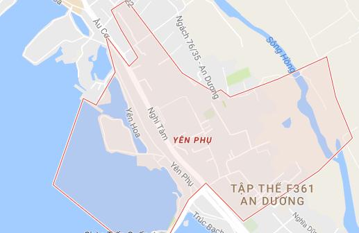 hút bể phốt tại phường yên phụ tây hồ